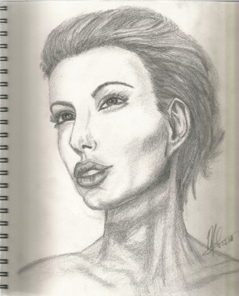 Angelina Jolie by maliloux